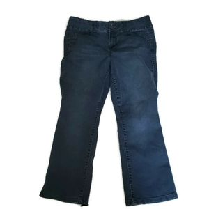 torrid Jeans - Torrid Denim size 16 dark wash boot cut blue jeans